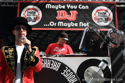 Think You Can DJ at HOW WEIRD STREET FAIRE 4-26-2015